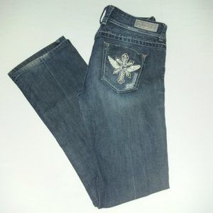 """Beautiful """"Daredevil"""" embellished Guess jeans"""